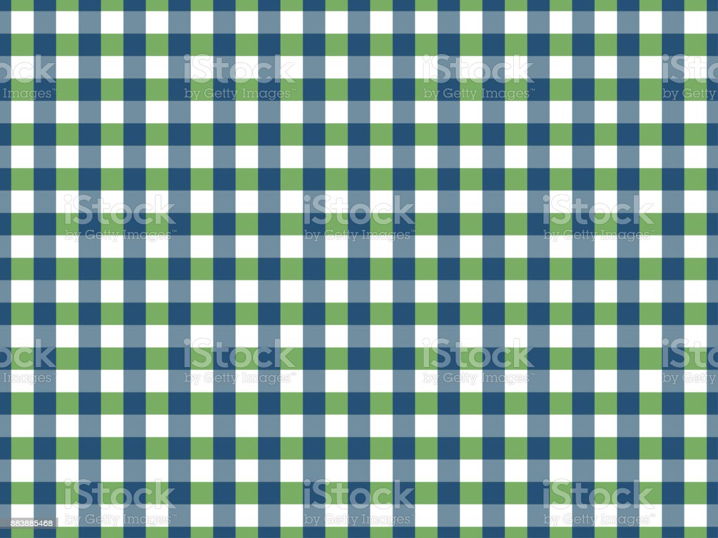 Gingham Tablecloth Seamless Pattern In Blue And Green Royalty Free Gingham  Tablecloth Seamless Pattern In