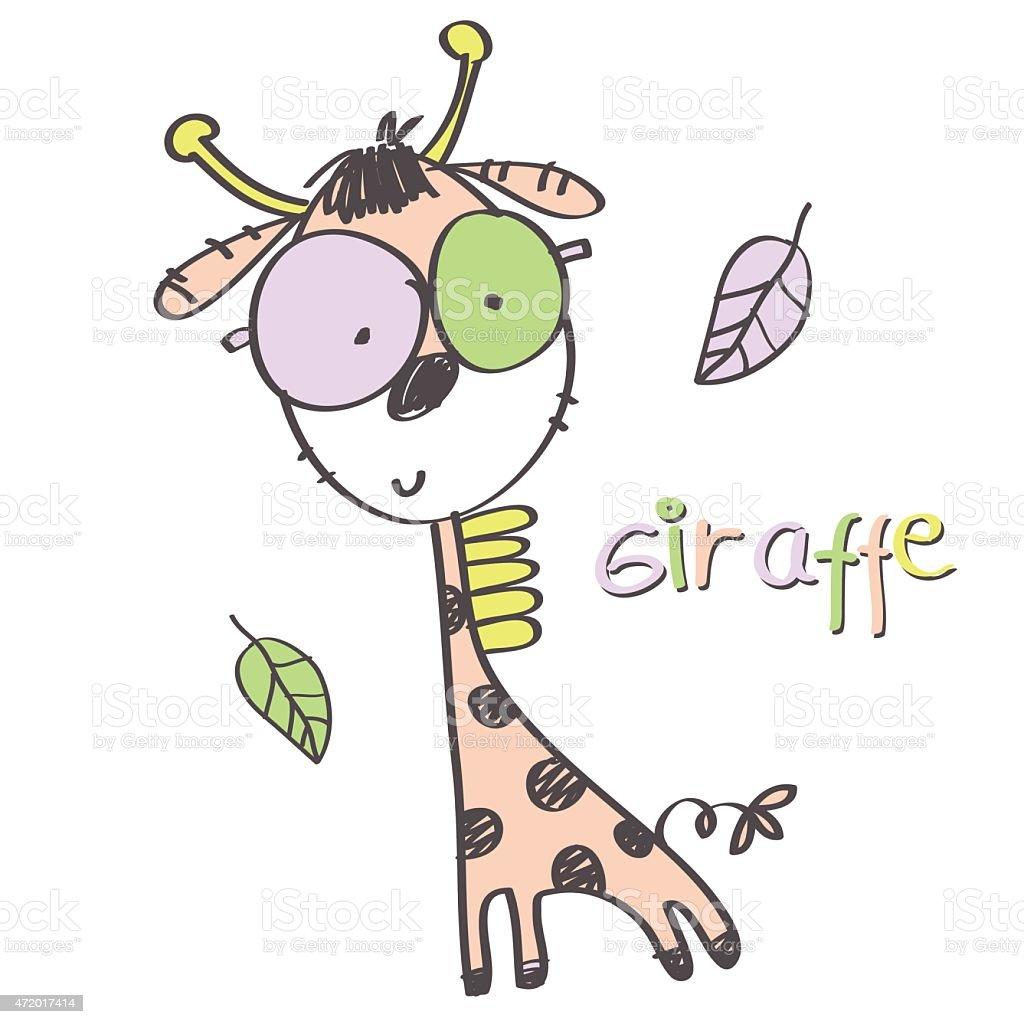 giraffe cartoon animal