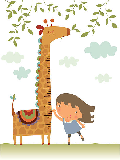 Royalty Free Child Growth Chart Clip Art Vector Images