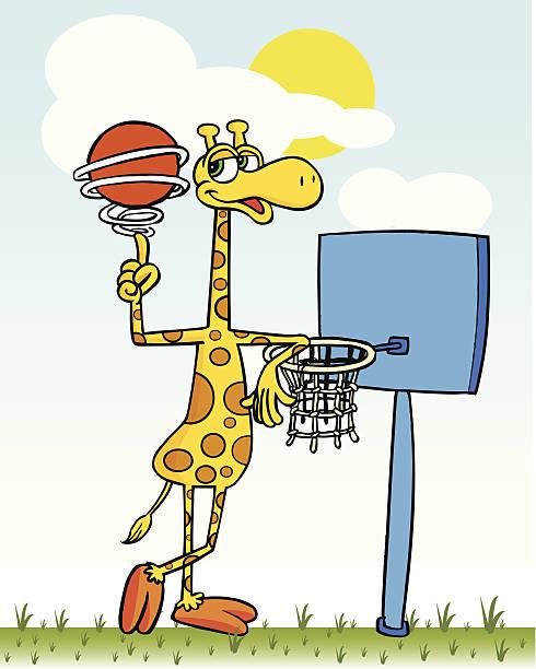 giraffe - giraffenhumor stock-grafiken, -clipart, -cartoons und -symbole