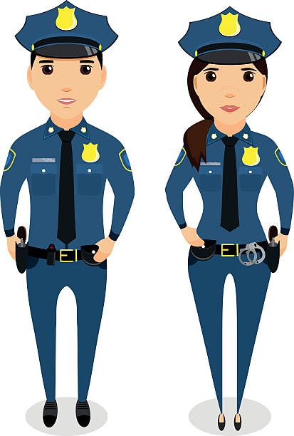 Royalty Free Security Officer Clip Art, Vector Images ...Police Woman Clip Art Free