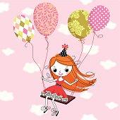 Little Girl's Birthday.
