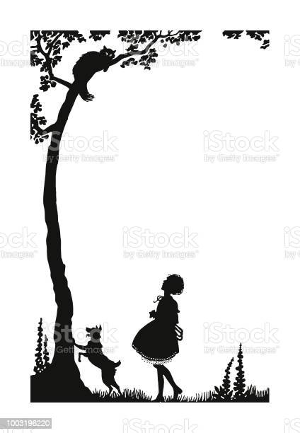 Girl and dog looking at a cat in a tree vector id1003196220?b=1&k=6&m=1003196220&s=612x612&h=wfl1ae utznc49cz2fg7q1ko8gubqt36eq5ivuuhwgm=
