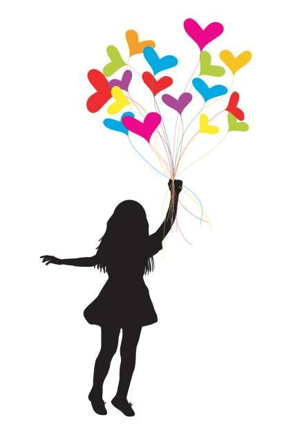 ilustrações de stock, clip art, desenhos animados e ícones de girl dragged by hearts - puxar cabelos