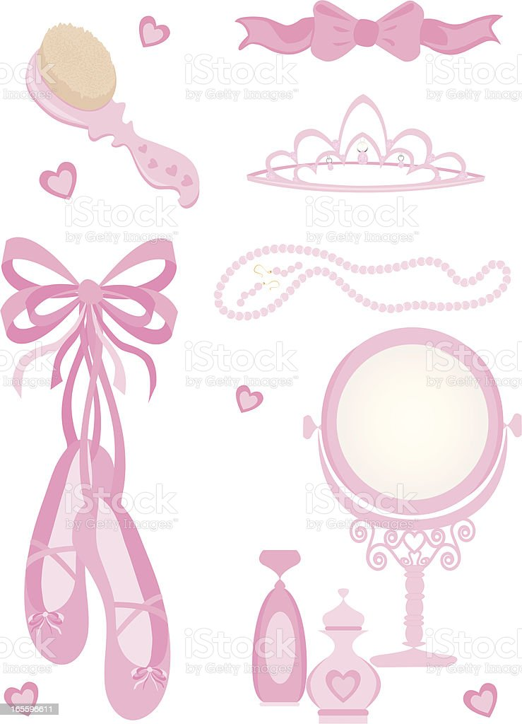 Girl Elements royalty-free girl elements stock vector art & more images of ballet