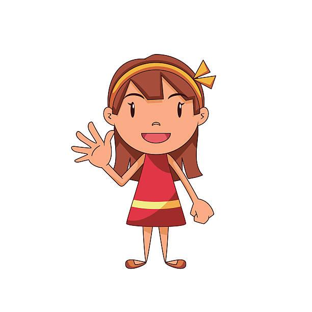 Royalty Free Cartoon Of The Hi Five Clip Art, Vector ...  Wave Hello Clipart