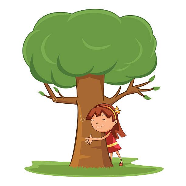 Top 60 Tree Hugger Clip Art Vector Graphics And Illustrations Istock