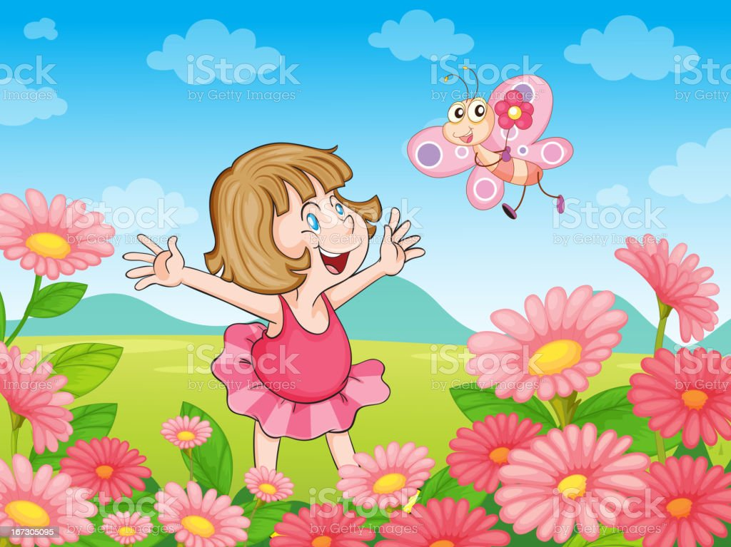 Girl in nature royalty-free girl in nature stock vector art & more images of adult