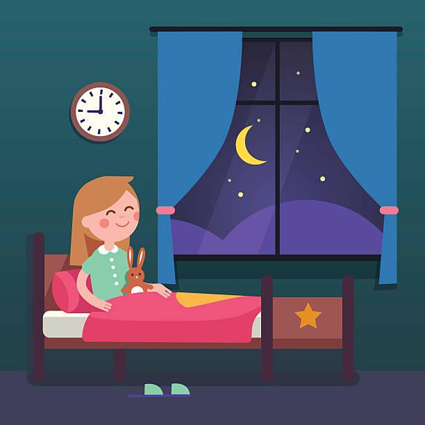 Kids Bedroom Illustrations, Royalty-Free Vector Graphics ...