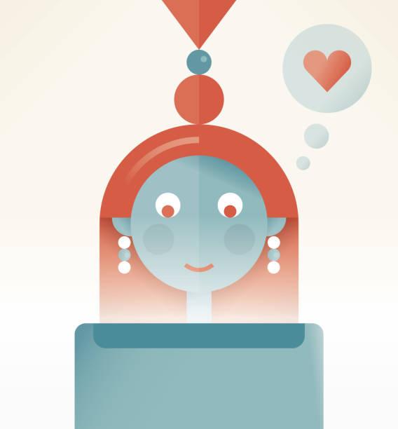 女孩喜歡社交媒體網路 (臉譜, 推特, instagram, youtube 等) 消息, 帖子, 文章在平板電腦上。概念:在線友誼和短信,聊天服務,博客,博客,購物,產品網路搜索等。 - twitter 幅插畫檔、美工圖案、卡通及圖標