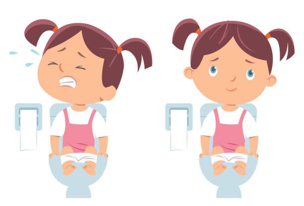 Little Girl Sitting On Toilet | Adam Błyga