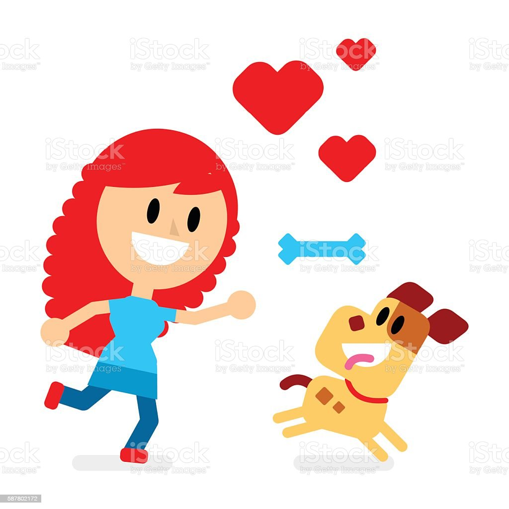 royalty free excited dog clip art vector images illustrations rh istockphoto com clip art of dog running fast clip art of dog paws