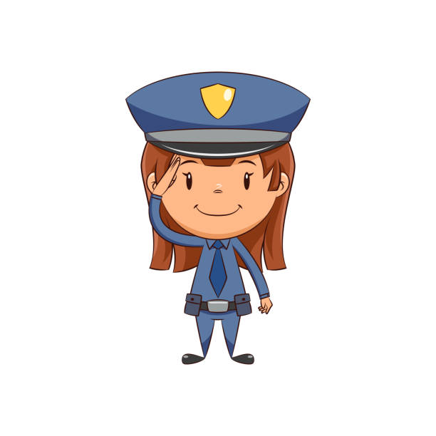 Royalty Free Police Woman Clip Art, Vector Images ...Police Woman Clipart