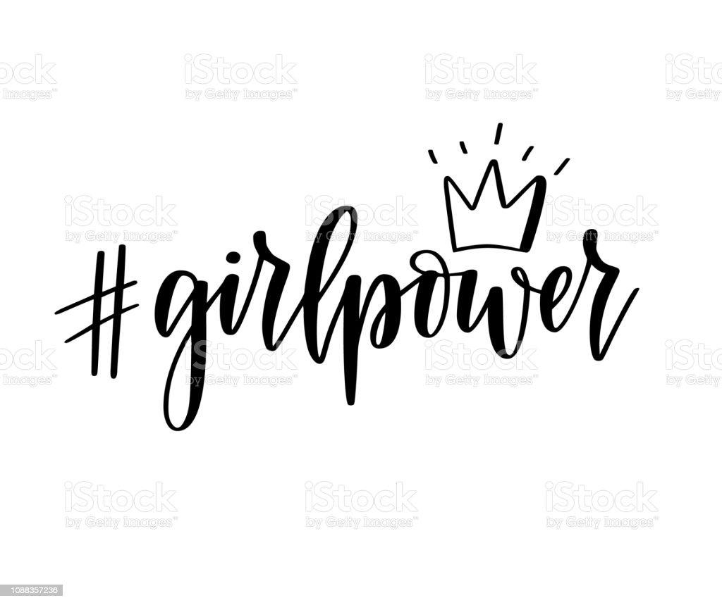 Vetores De Letras De Inspiração Feminista Motivacional Do