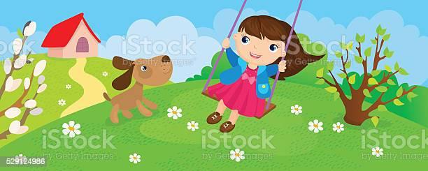 Girl riding on swing in spring vector id529124986?b=1&k=6&m=529124986&s=612x612&h=ehvns usdjivqnhuw5saotmqne1utypa8zubxmqzuvw=