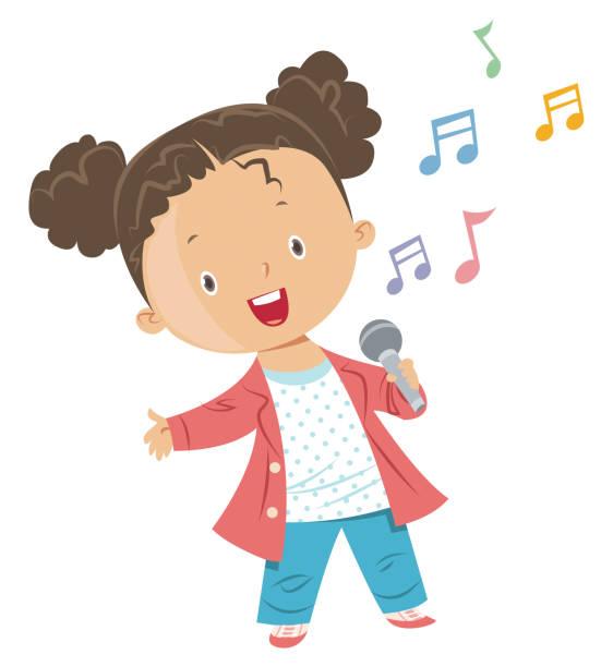 stockillustraties, clipart, cartoons en iconen met naxi orkest - zingen