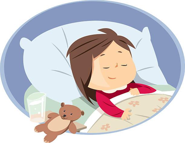 Sleep Bed Girl