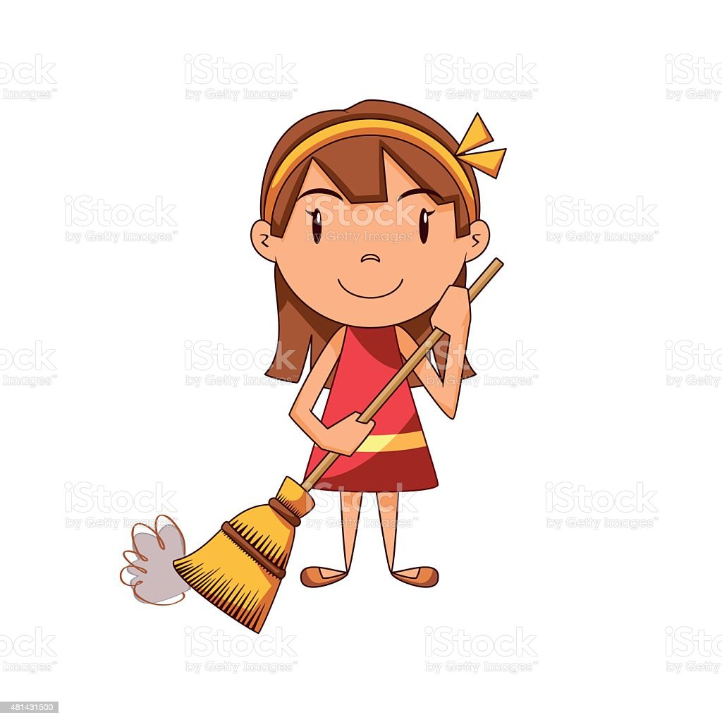 royalty free sweeping clip art  vector images janitor clipart free janitorial clipart free