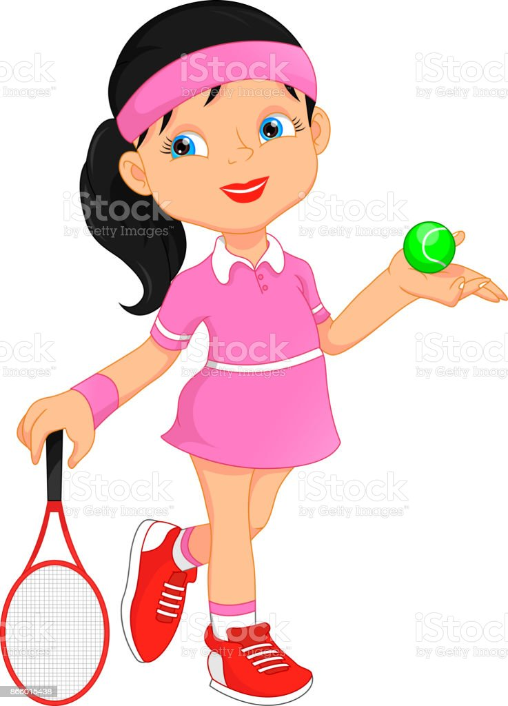 royalty free youth indoor tennis clip art vector images rh istockphoto com tennis clip art free download tennis clip art free download