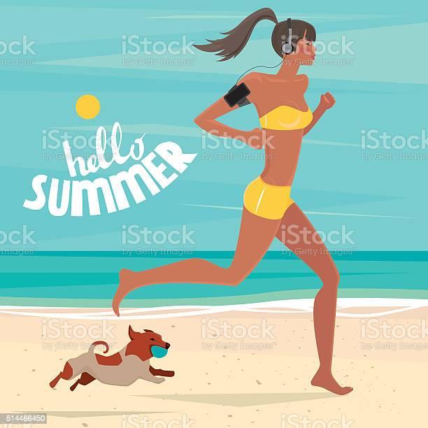 Girl trains on the beach vector id514466450?b=1&k=6&m=514466450&s=612x612&h=c7ubhslw kypomupryuyr2tvcduvhboozy llmsmkic=