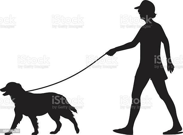 Girl walking dog silhouette vector id468296740?b=1&k=6&m=468296740&s=612x612&h=yziwrjynar662vuabcb jhtpivm75qru24al9uhe5mg=