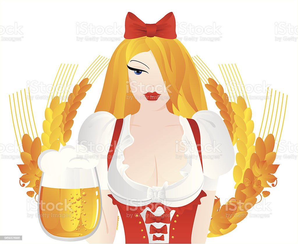 girl with beer royalty-free girl with beer stock vector art & more images of adult