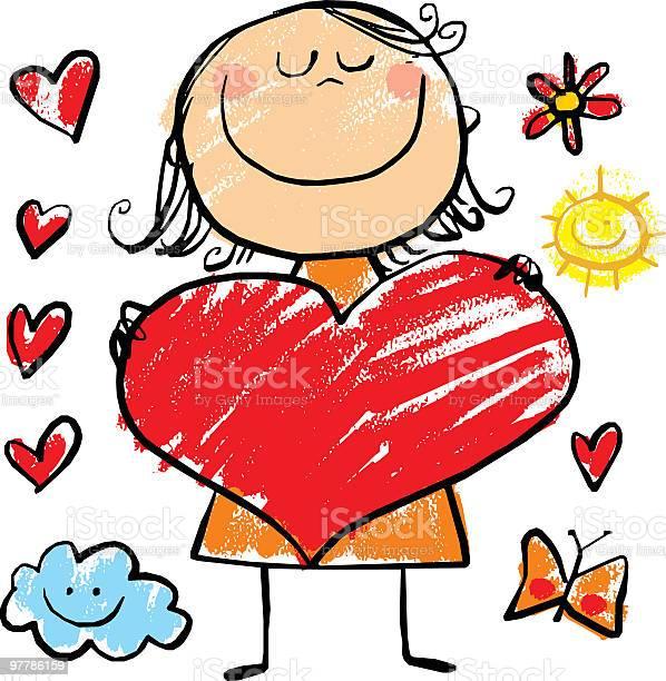 Girl with big heart vector id97786159?b=1&k=6&m=97786159&s=612x612&h=x5kas3b3uuh5jdeockpok habwglogxxpvyiitbxjjo=