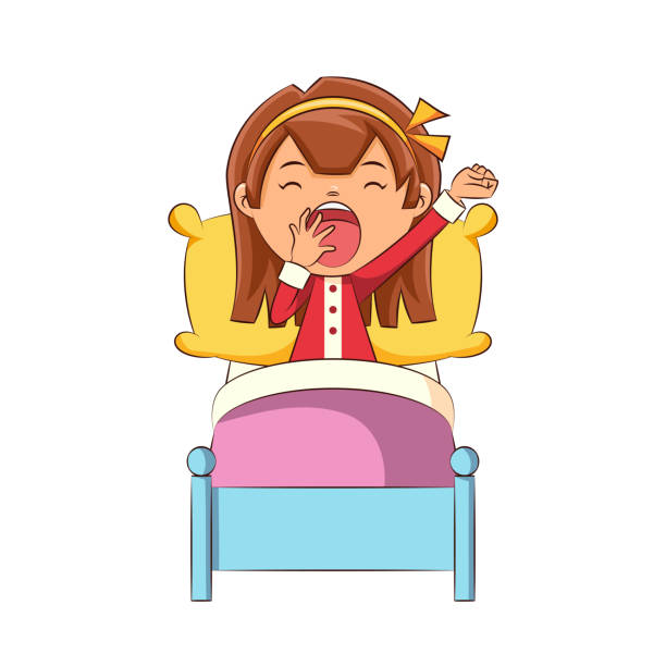 Best Yawn Illustrations, Royalty-Free Vector Graphics