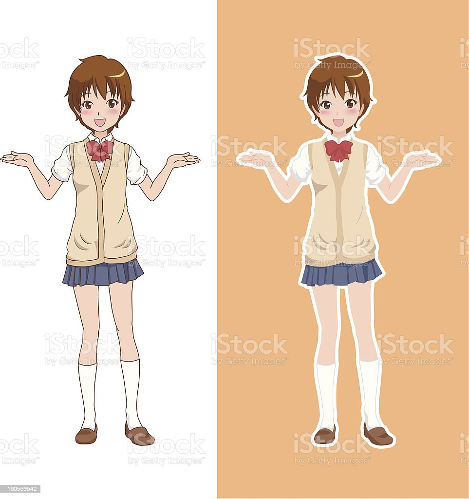 girl_happy royalty-free girlhappy stock vector art & more images of adult
