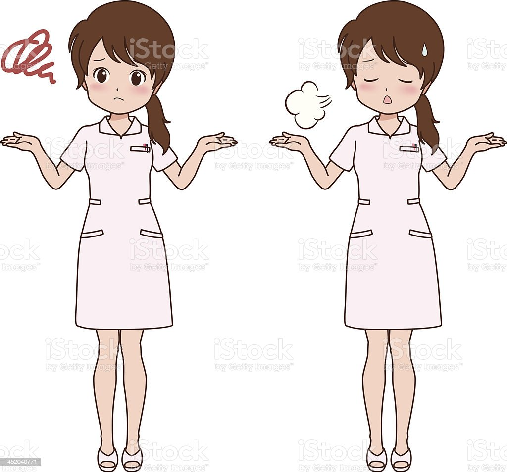 girl_trouble royalty-free stock vector art
