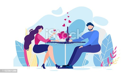 Girlfriend Cheers Glass Drink Wine Illustration