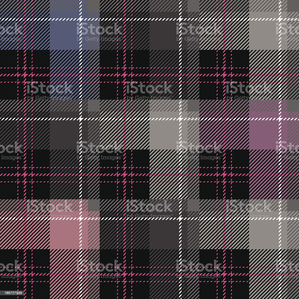 Girlfriend Plaid (Seamless) royalty-free girlfriend plaid stock vector art & more images of backgrounds