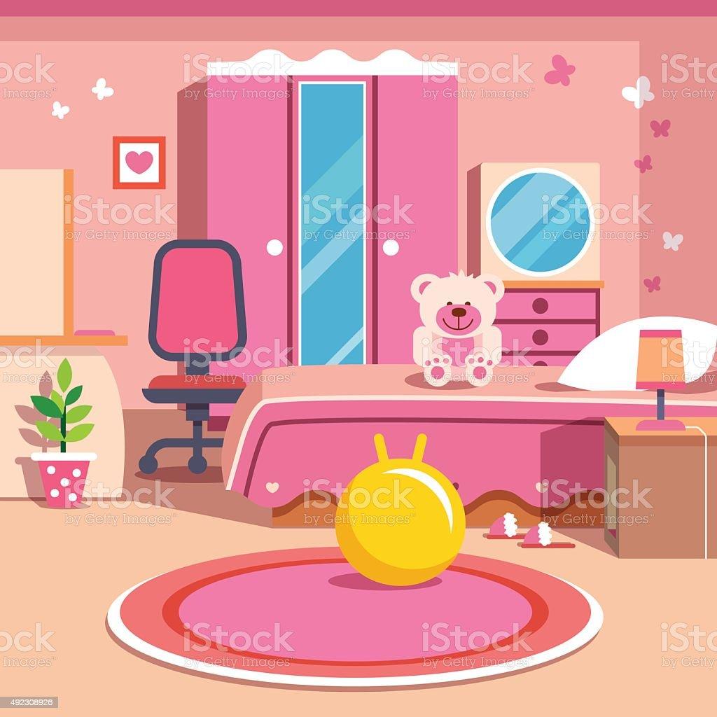 Top Kids Bedroom Clip Art, Vector Graphics And