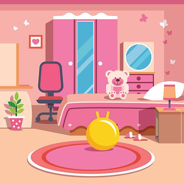 top kids bedroom clip art vector graphics and