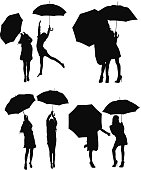 Girls and umbrella vectorhttp://www.twodozendesign.info/i/1.png