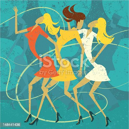 istock Girls at a nightclub 148441436