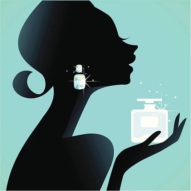 girl's best friend (parfüm - couture stock-grafiken, -clipart, -cartoons und -symbole