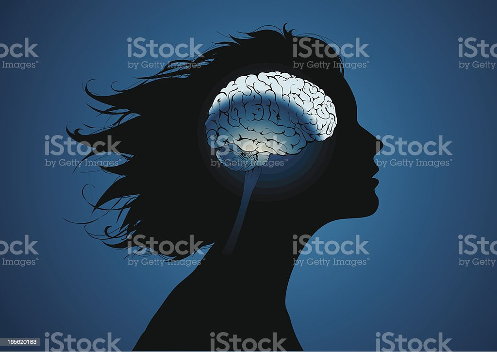 Girls brains royalty-free girls brains stock vector art & more images of anatomy