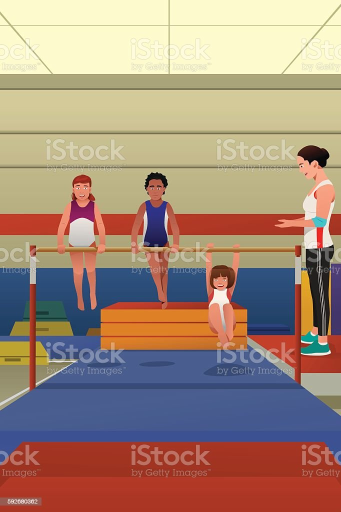 Top gym teacher clip art vector graphics and illustrations
