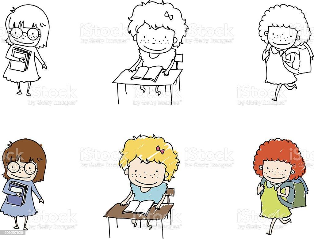картинки рисунки на школьную тему