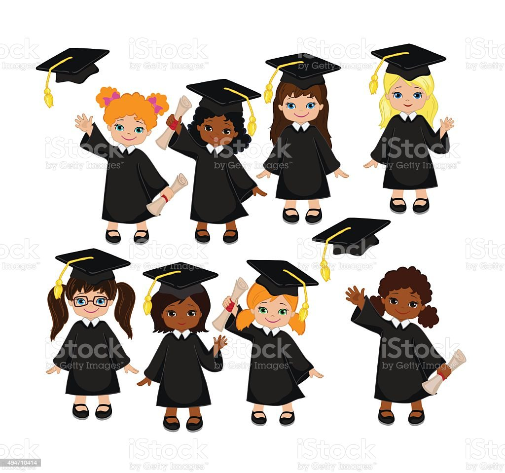 Cap And Gown Clipart - World Wide Clip Art Website •