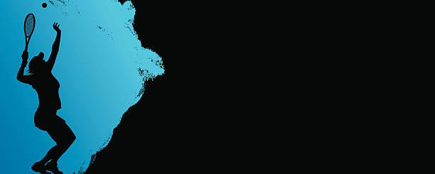 mädchen tennis hintergrund - wimbledon stock-grafiken, -clipart, -cartoons und -symbole