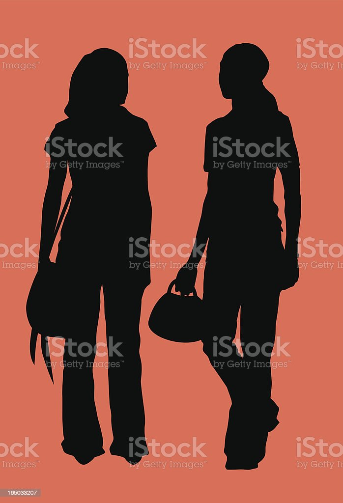 Girls ( Vector ) royalty-free girls stock vector art & more images of adult