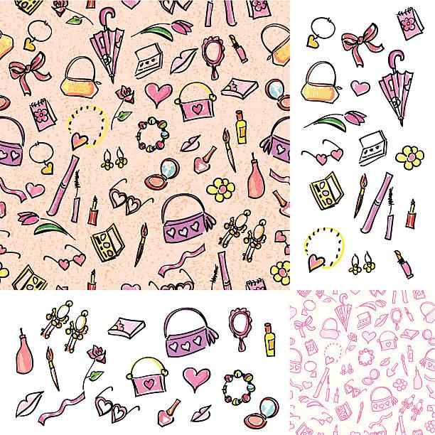 Girly Dinge – Vektorgrafik
