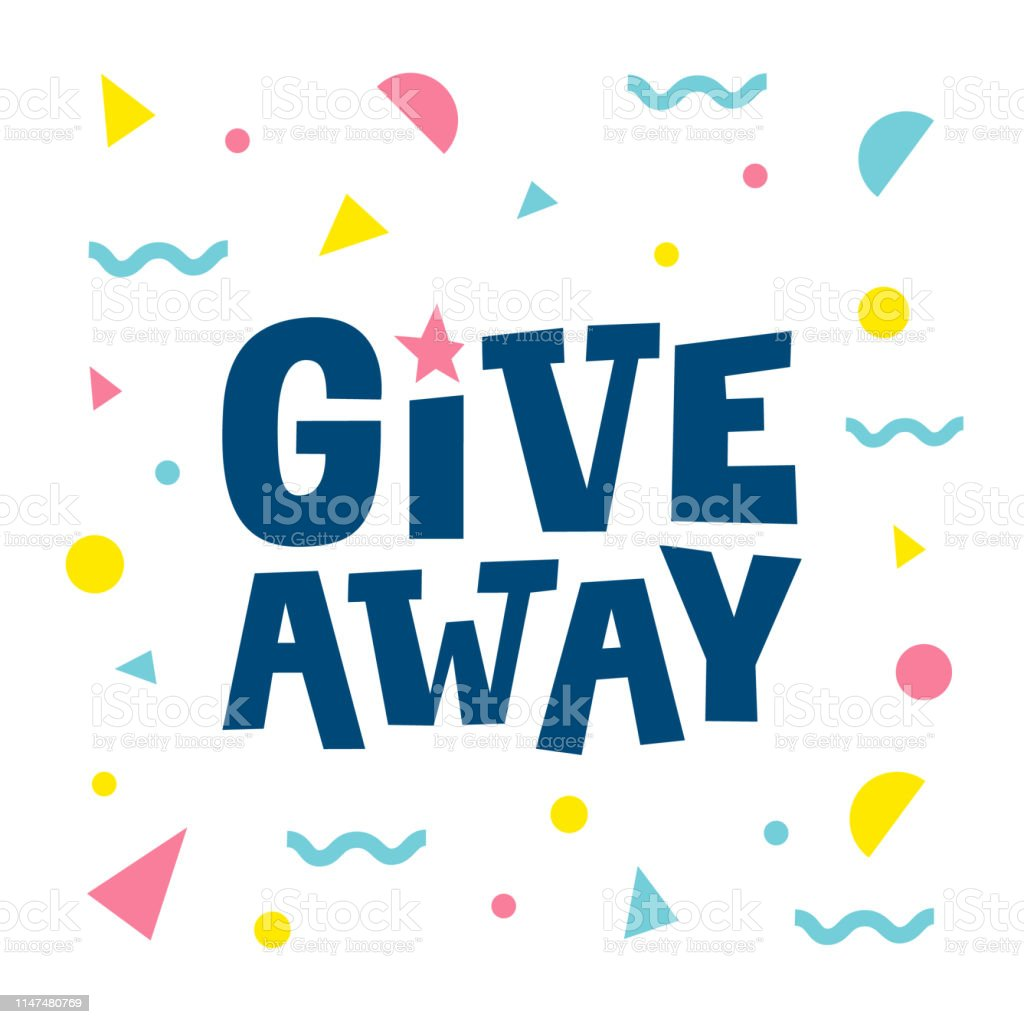 Image result for giveaway clipart""