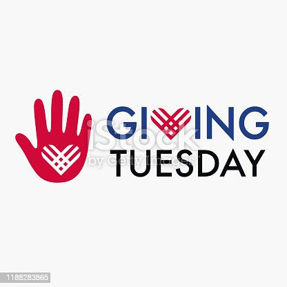 istock Giving Tuesday banner design 1188283865