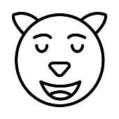 glad  happy  emoji