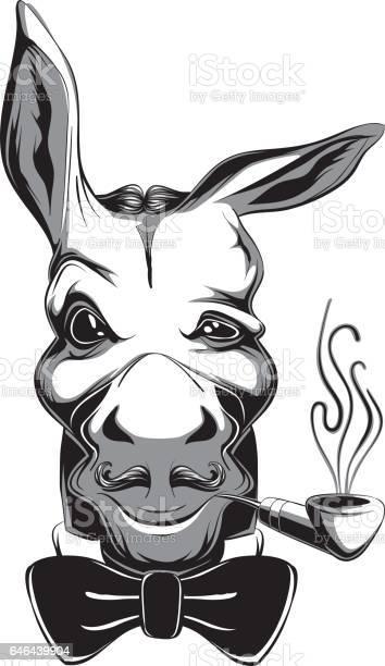 Glamorous victorian style cartoon snobbish fashion funny donkey club vector id646439904?b=1&k=6&m=646439904&s=612x612&h= hwfev  k5mffygeg4k6oqnojwwdlkfgnsrwvcuhqkg=