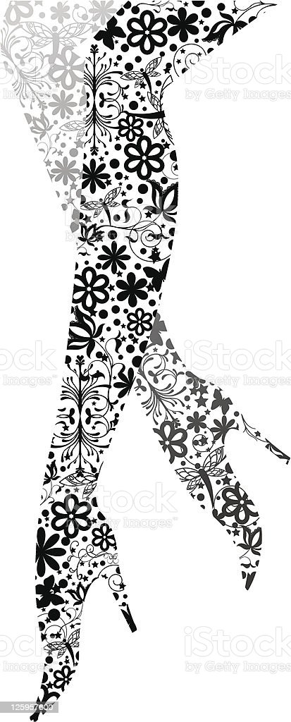 Glamour fashion legs royalty-free glamour fashion legs stock vector art & more images of abstract