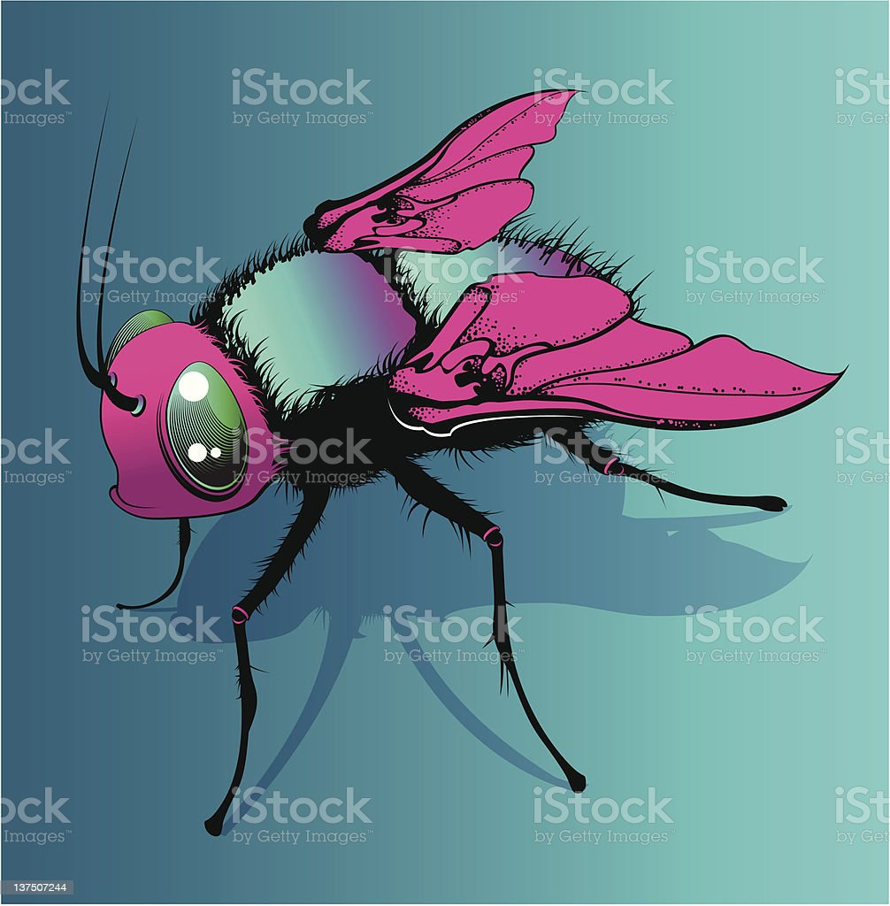 glamour fly royalty-free stock vector art